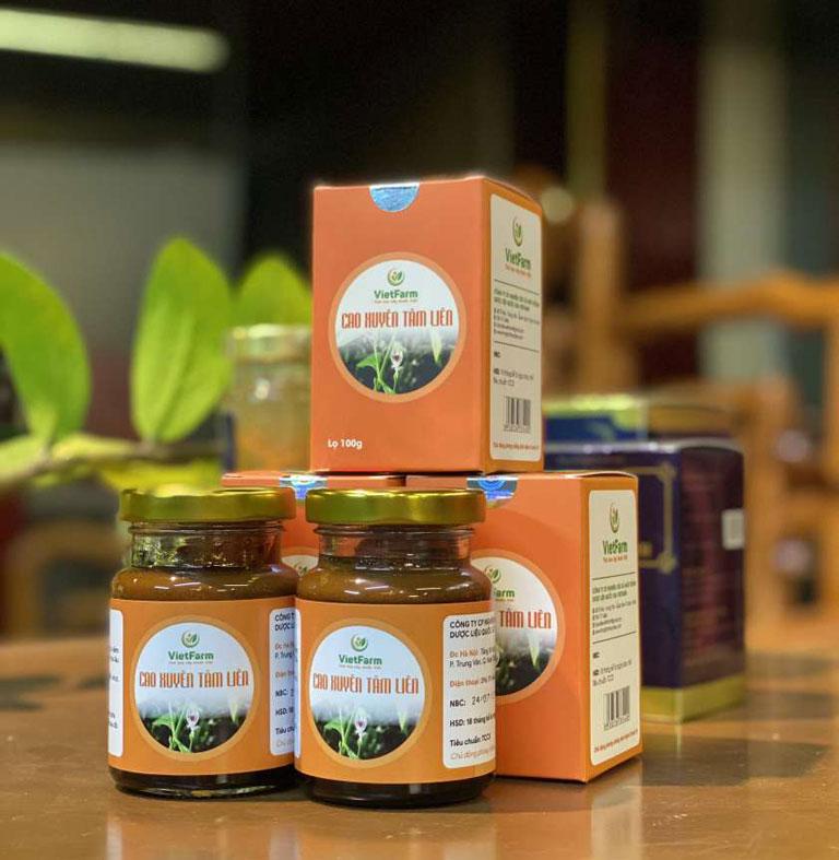 Cao xuyên tâm liên Vietfarm được bào chế từ 100% thành phần thảo dược