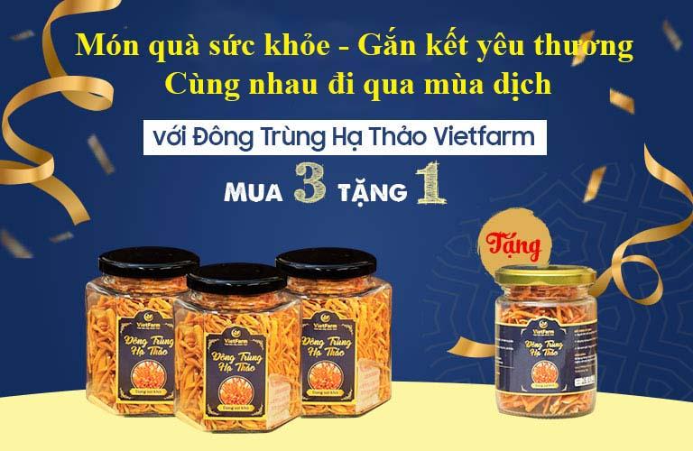 Chương trình ưu đãi của Đông trùng hạ thảo Vietfarm