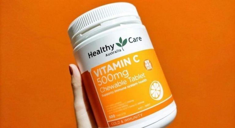 Viên nhai bổ sung vitamin C nên được dùng đúng cách