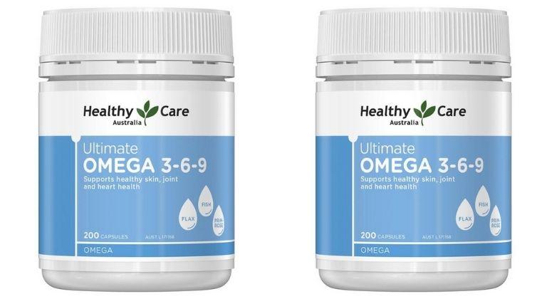 Omega 3 6 9 Healthy Care là thực phẩm chức năng của Úc