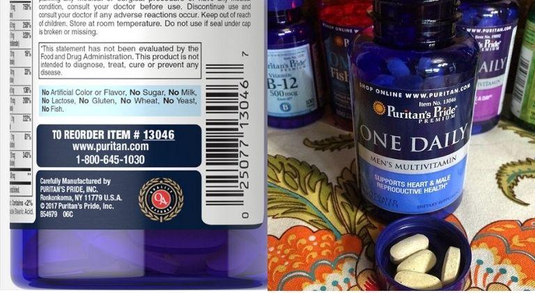 Nhận biết sản phẩm qua màu sắc viên uống và mã ITEM
