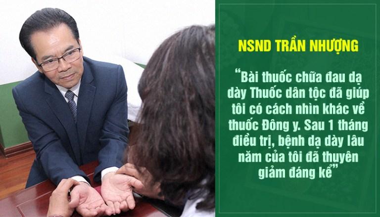NS Trần Nhượng tin dùng Sơ can Bình vị tán
