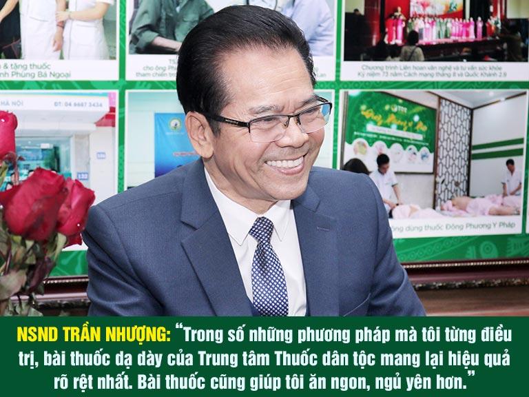Nghệ sĩ Trần Nhượng đánh giá về Sơ can Bình vị tán