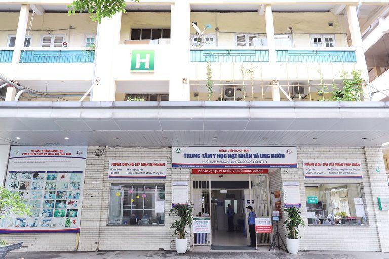 Trung tâm Y học hạt nhân và Ung bướu - Bệnh viện Bạch Mai