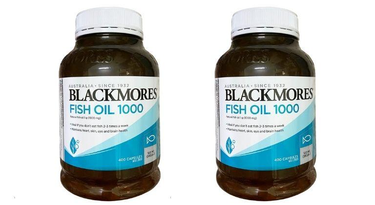 Giới thiệu viên uống dầu cá Blackmores Fish Oil 1000mg