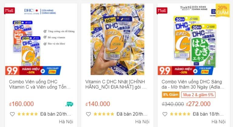 Bạn có thể tham khảo giá tại một số địa chỉ trước khi mua trên các trang bán online
