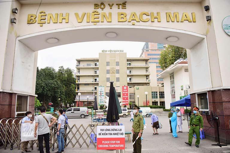 Bệnh viện Bạch Mai được nhiều bệnh nhân lựa chọn