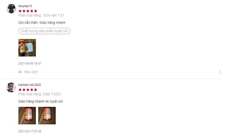 Review sản phẩm trên Shopee