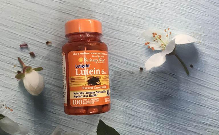 viên uống Lutein 20 mg with Zeaxanthin đến từ thương hiệu Puritan's Pride