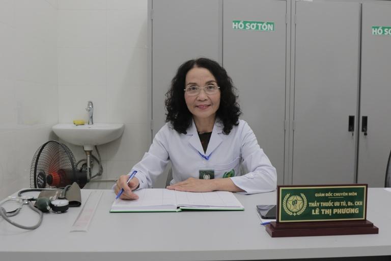 TTƯT, Bác sĩ CKII Lê Thị Phương - Nguyên Phó Giám Đốc Bệnh viện YHCT Hà Đông