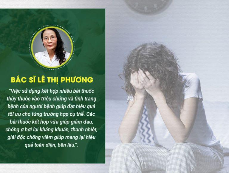 Nhận định từ bác sĩ Lê Phương về cơ chế điều trị của bài thuốc