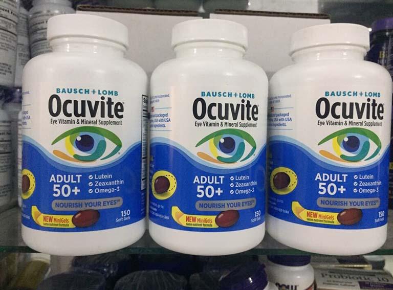 Viên uống bổ mắt Ocuvite giúp bảo vệ mắt
