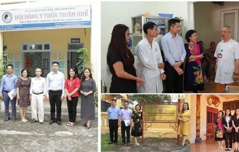 TS. BS Nguyễn Thị Vân Anh cùng những người đồng nghiệp đã nhiều lần vào Huế để sưu tầm tài liệu