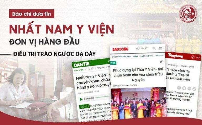 Bài thuốc Nhất Nam Bình Vị Khang được báo chí đưa tin